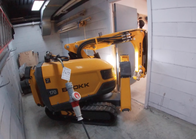 Brokk Robot in action